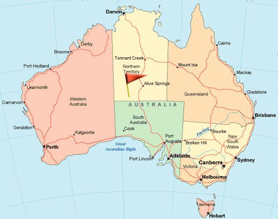 Karta Australien Adelaide.Uluru Australiens Hjarta Och Sjal Vagabond